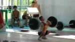 8 Year Old Clean & Jerk