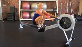 concept 2 rowing - step 1