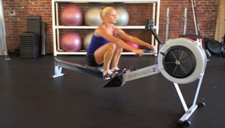 concept 2 rowing - step 3