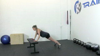 fit mom baby burpees - step 3