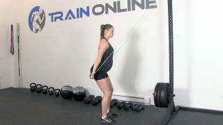 fit mom band pull down - step 2
