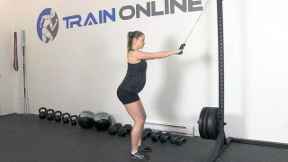 fit mom band pull down - step 3