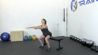 fit mom sit stand - step 2