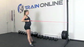 fit mom squat row - step 2