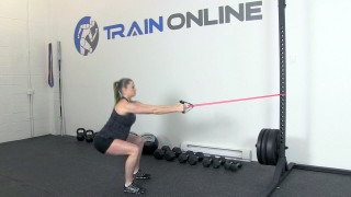 fit mom squat row - step 3