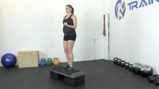 fit mom step-ups - step 2