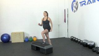 fit mom step-ups - step 3