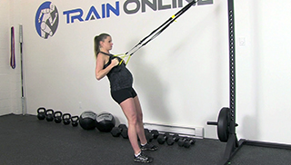 fit mom trx body row - step 2