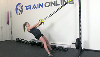 fit mom trx body row - step 3