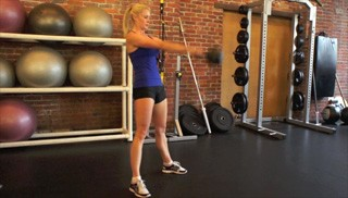 kettlebell swing - step 3