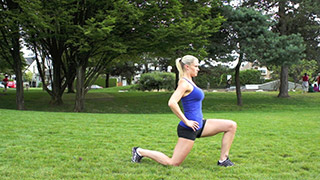 outdoor lunges - step 2