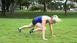 outdoor mountain climbers - step 1