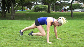 outdoor mountain climbers - step 3