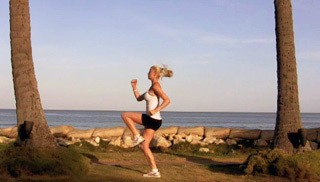running with high knees - step 3