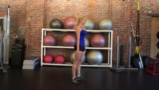 standing burpees - step 1
