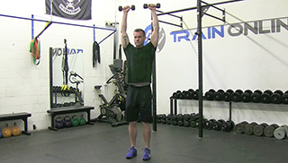 3 way shoulder raise  - step 3