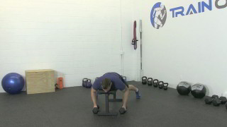 bat wing dumbbell rows - step 3