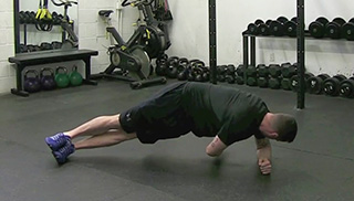 side plank twist - step 2