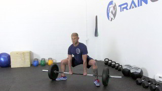 sumo deadlift - step 1