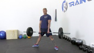 sumo deadlift - step 2