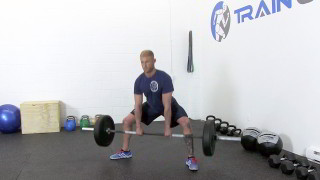 sumo deadlift - step 3