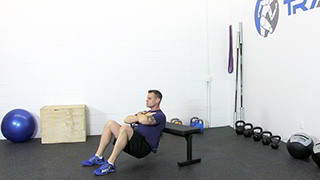 bench hip raise - step 3