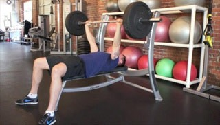 bench press - step 1