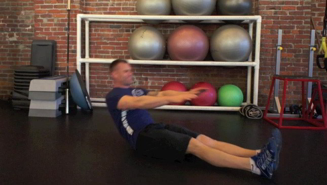 full sit-ups - step 3