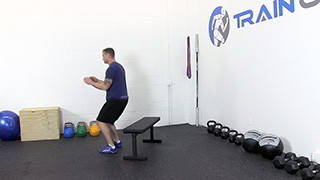 jump over bench - step 3