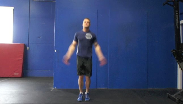 jumping jacks - step 3