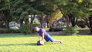 outdoor burpee press - step 3