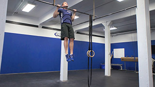 Picture of a male doing Pull-ups Exercise