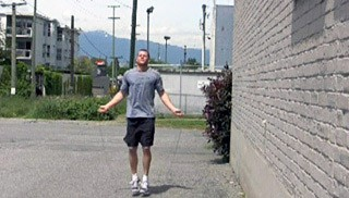 Picture of a male doing Skipping Exercise