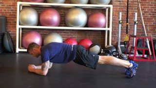 the plank - step 1