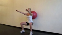 Picture of the beginner full body fitness work-out #5