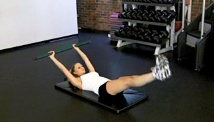 Picture of the core conditioning workout