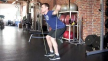Picture of the exercise band full body circuit