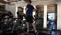 Picture of the full body fitness work-out