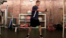 Picture of the intermediate core strength and abs work-out