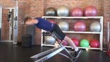 Picture of the intermediate lower body work-out #1