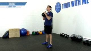 Picture of the kettlebell conditioning circuit